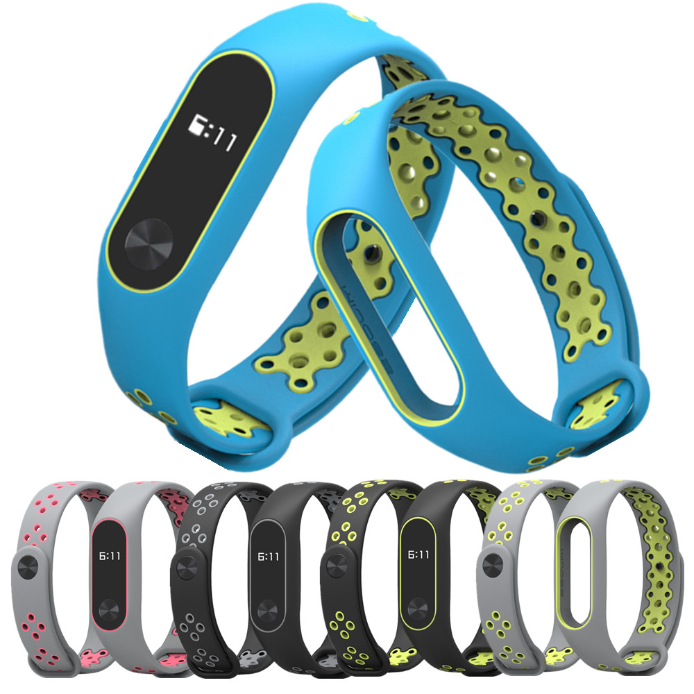 Mi Band 2 Strap wrist strap for Xiaomi mi band 2 sport Silicone Bracelet for xiaomi Mi band 2 smart watch bracelet accessories цена