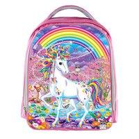 Unicornio Mochila para Niñas niños Animal Bolsa cartable enfant Bolsos de Escuela Los Niños Bolsa de Kindergarten mochila Niños de la Historieta de Kawaii
