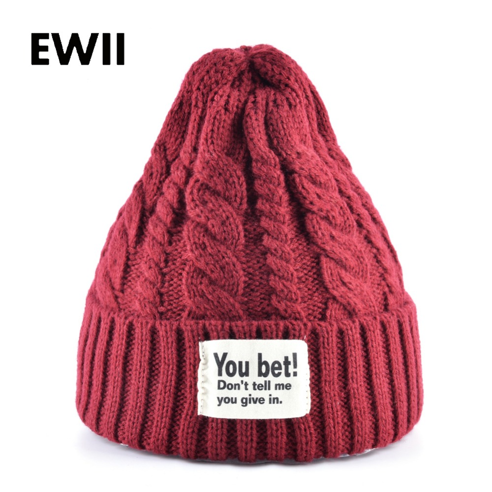 Hot sale winter cap women knitted wool beanie caps men bone skullies women warm beanies hats unisex casual hat gorro feminino hot sale winter cap women knitted wool beanie caps men bone skullies women warm beanies hats unisex casual hat gorro feminino