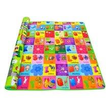 Горячая распродажа! Детские коврики для игр мягкая пена EVA 0,5 см толщина двусторонняя мультфильм Вышивка крестом картины детские коврики детей ползать