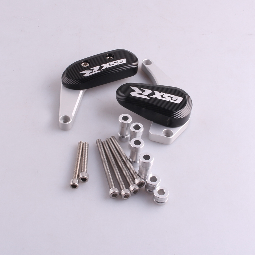 ФОТО CNC Machined Stator Case Cover Crankcase Slider Crash Guard Protector For Suzuki GSXR 1000 2009-2012
