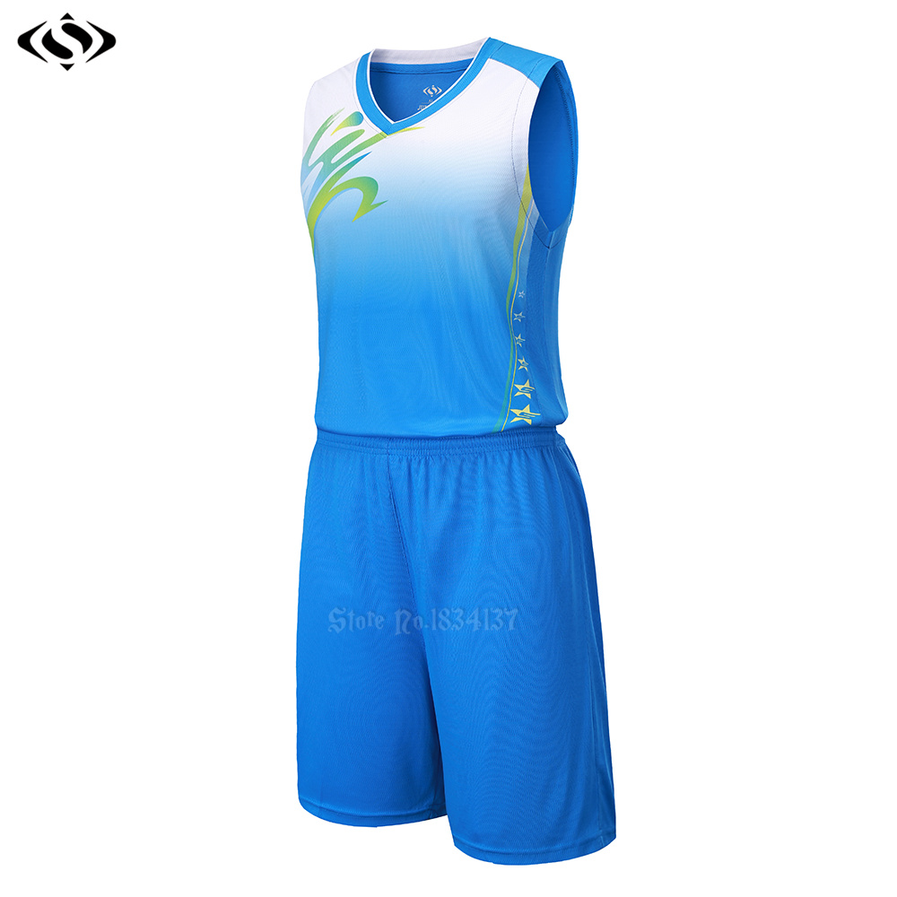College basketball jerseys men blank cheap basketball jerseys adult  customized basketball uniforms kits breathable sets 2017 new-in Basketball  Jerseys from ... 7bf6ed57b