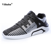 Men S Sports Shoes 2017 Spring Autumn Comfortable Mesh Breathable Sneakers Lace Up Male Trainers Flats
