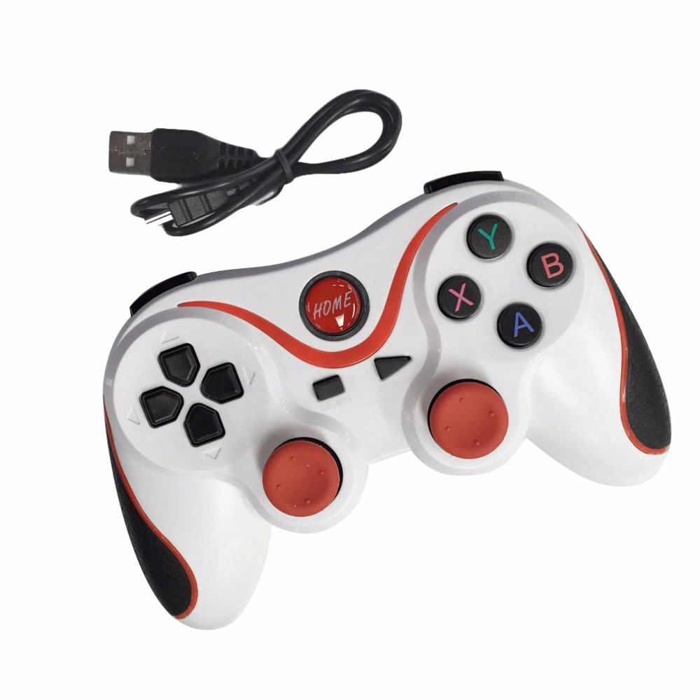 T3 Android Wireless Bluetooth Gamepad Gaming Remote Controller Joystick BT 3.0 for Android Smartphone Tablet PC TV Box