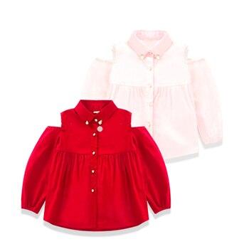 2016 Spring New Pattern Korean Children Dress Girl Baby Strapless Nail Pearl Skirt Pendulum Shirt Girl Fashion Shirt Jacket
