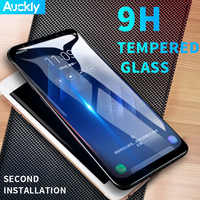 Auckly Tempred Glass Film 6D Curved Round Full Coverage Screen Protector Film For Samsung Galaxy S8/S9 /S8 Plus/S9 Plus