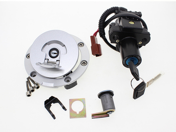 Для Honda CBR1000RR 2008-2013 12 В МОТОЦИКЛ Переключатель зажигания Крышка газа Блокировка сиденья набор ключей 2009 2010 2011 2012