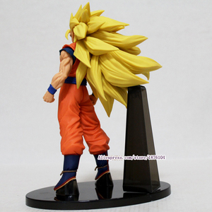 Image 4 - Anime Dragon Ball Z Goku Action Figure Juguetes ACGN Dragonball Super Saiyan 3 Figures Collectible Model Kids Toys Brinquedos