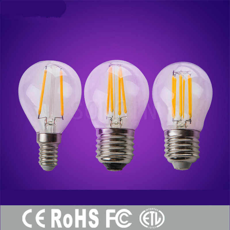 1pcs Super Bright 6W 9W 18W 24W Retro Vintage Edison Bulb E27 E40 LED Filament Light G45 A60 AC220V 240V