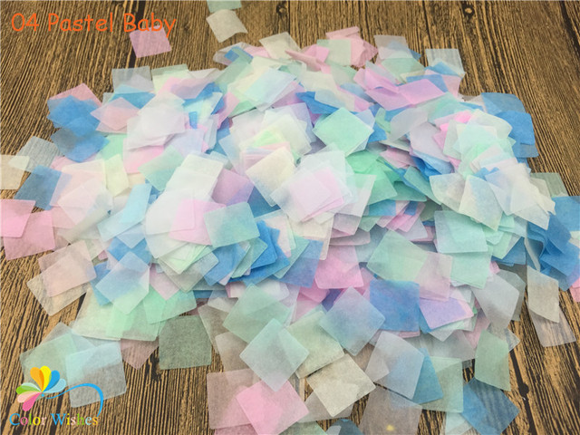 2020mm 20gpack2000pcs Mixed Colors Pastel Baby Square Paper