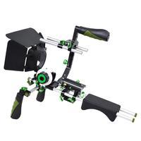 professional DSLR 5DII rig video 5D2 camera slr dslr rig shoulder mount cage handle stabilizer steadycam follow focus matte box