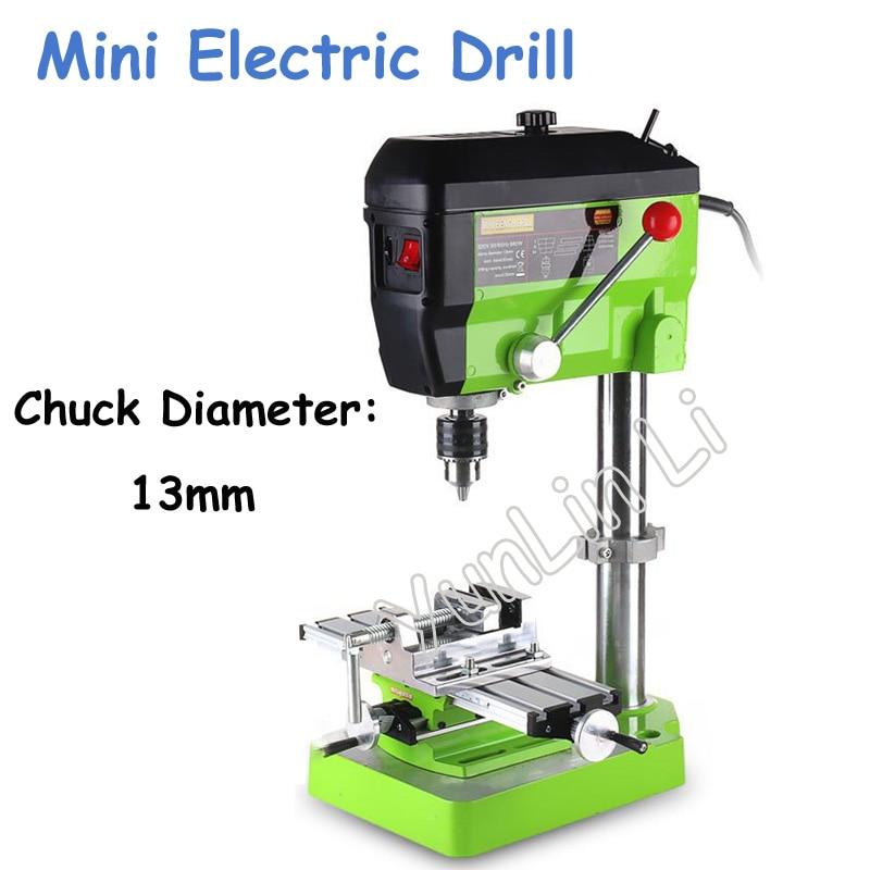 Mini Electric DIY Drill 220V 680W Variable Speed Micro Drill Press Machines 5168E hubert razik handbook of asynchronous machines with variable speed isbn 9781118600863