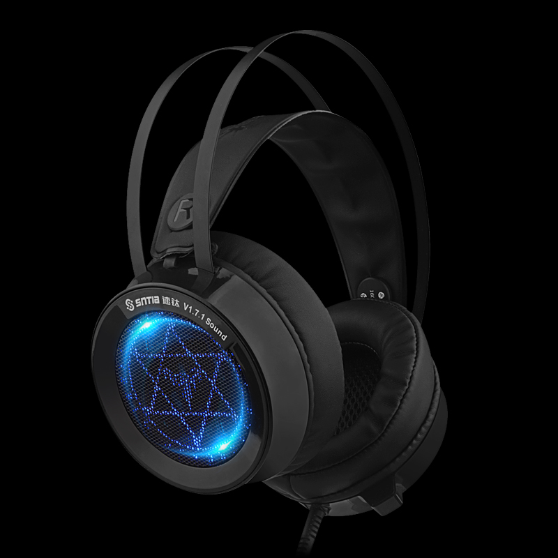 YODELI Best 7.1 Surround USB Game Headphones with Microphone HiFi Over-Ear Gaming Headset for PC Laptop PS4 XBOX fast free ship for gameduino for arduino game vga game development board fpga with serial port verilog code
