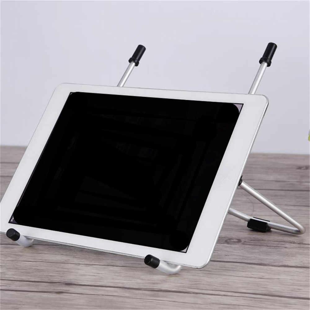 Портативный ноутбук Стенд складной Угол обзора/Высота Регулируемый качественный Алюминиевый Кронштейн Поддержка 10-17 дюймов ноутбук