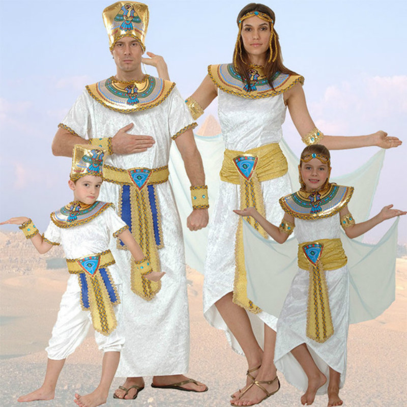 Egypt Queen Costumes Princess Royal Golden Women Men Costume Masquerade theme Party adult halloween cosplay kids child clothing-in Movie u0026 TV costumes from ...  sc 1 st  AliExpress.com & Egypt Queen Costumes Princess Royal Golden Women Men Costume ...