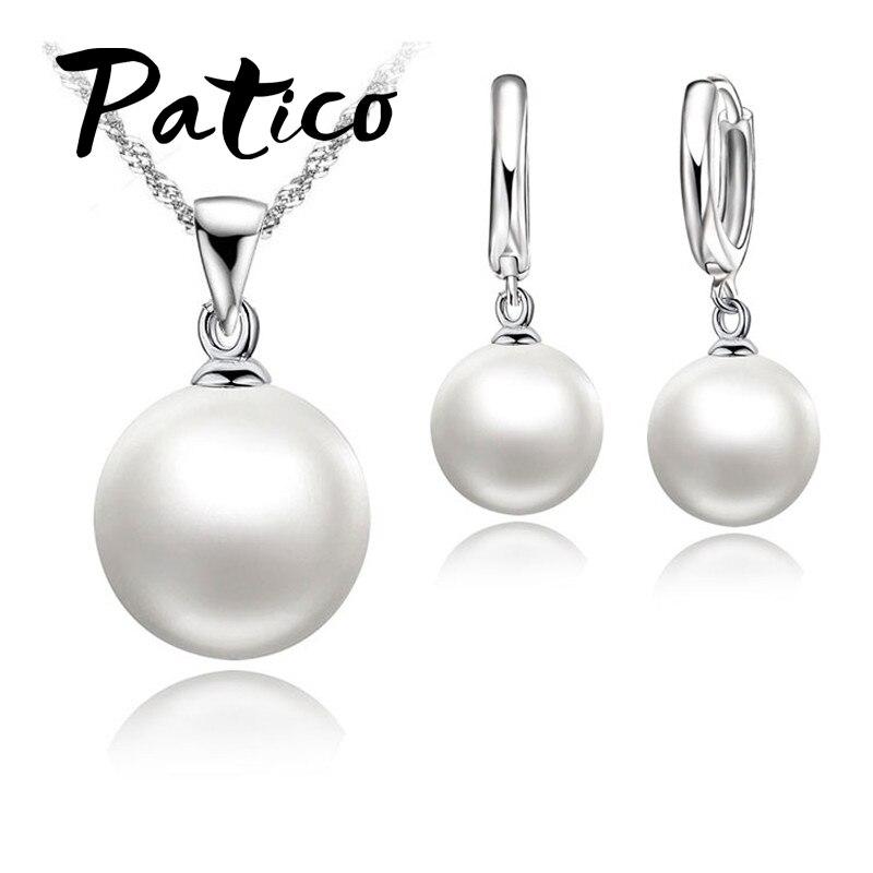 Nice Pearl Jewelry Set 925...