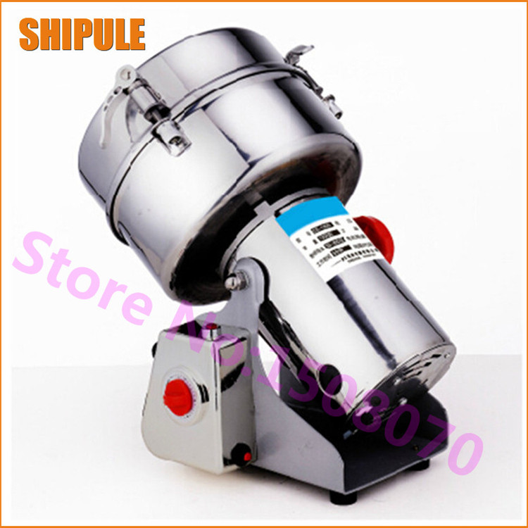 2000g high efficiency electric red pepper grinding machine chili grinder machine price