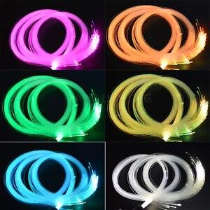 Image 3 - Maykit Decorative Star Ceiling Led Fiber Optic Light Kit White Cree Led+Twinkle Color Wheel+600pcs 0.75mm+60pcs 1.0mm+20pcs 1.5