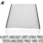 cabin filter for AUDI TT . SUBARU LEGACY / LIBERTY / OUTBACK / TRIBECA. TOYOTA LAND CRUISE / PRIUS / YARIS / VITZ 87139-47020