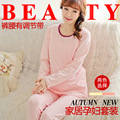 New Maternity autumn Cotton Long can close lactation pregnant women wear pajamas confinement 15QY20B