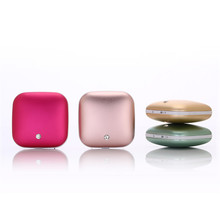 Diamond Lover 3500mAh Hand warmer Power Bank Double Alloy case Body hand Warmer Heater Portable Power Bank for mobile phone