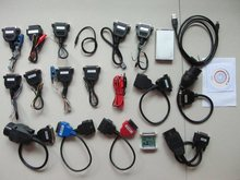 carprog 2019 newest v10 05 With 21 Full Adapters with all software activated font b Car
