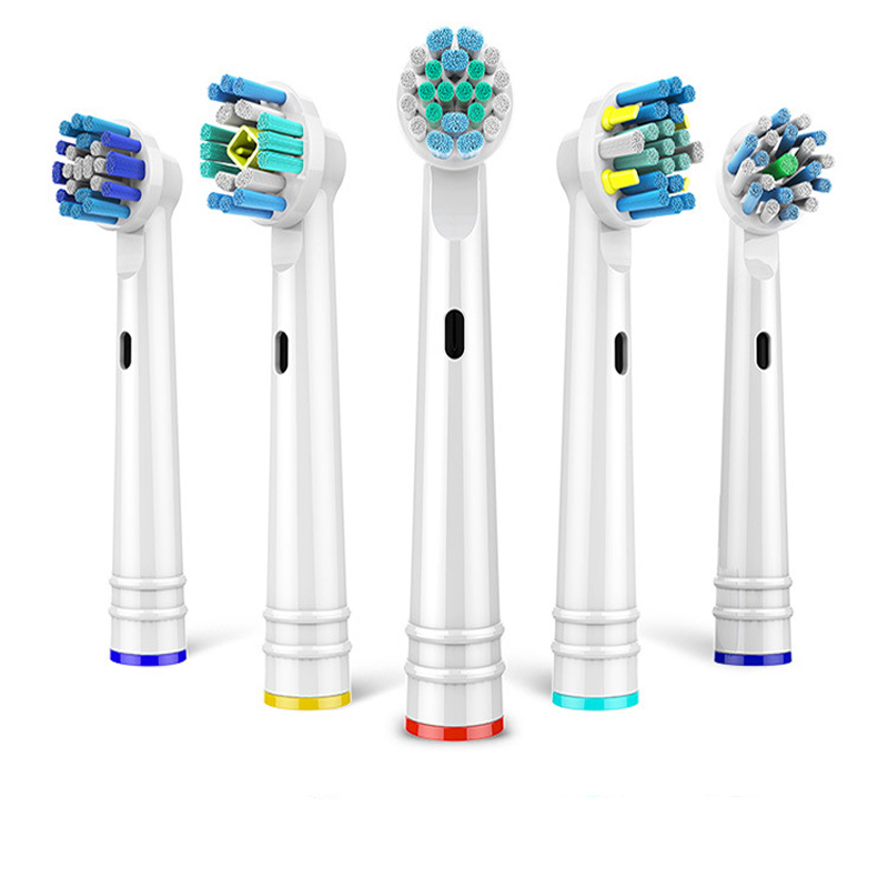 4Pcs/lot Replacement Electric Toothbrush Heads For EB-17P18202550 Hygiene Care Clean Electric Tooth Brush for all round head image