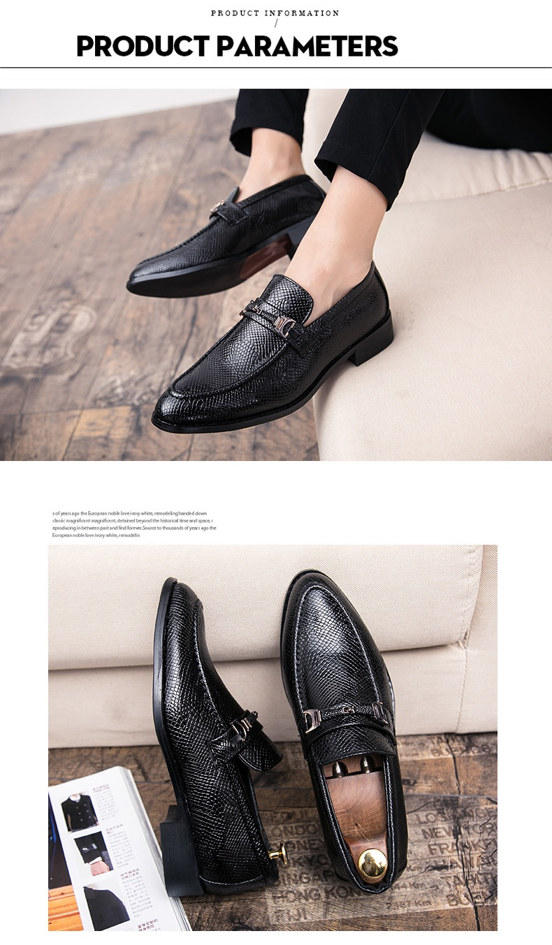 New Spring Autumn Man Dress Shoes fiber Pointed Toe Breathable Fashion Sleeve Business Wedding Oxford Formal Shoes for Meal (6)