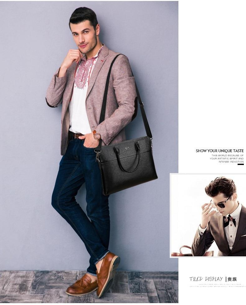 HTB1sma9XfBNTKJjSszeq6Au2VXaN TIANHONGDAISHU Men Casual Briefcase Business Shoulder Leather Messenger Bags Computer Laptop Handbag Men's Travel Bags handbags