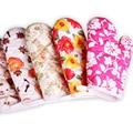 Варежки для микроволновой печи перчатки изолированные перчатки для выпечки термостойкие Терилен Нескользящие 1 шт кухонный инструмент