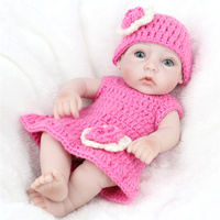 MINOCOOL Simulation of Regenerated Doll Reborn Lifelike Companion Doll Bathable Wholly Soft Rubber Baby Doll