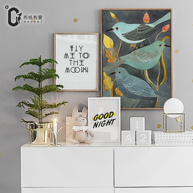 새 캔버스 벽 거실 벽 예술 인쇄 그림 선물 프레임