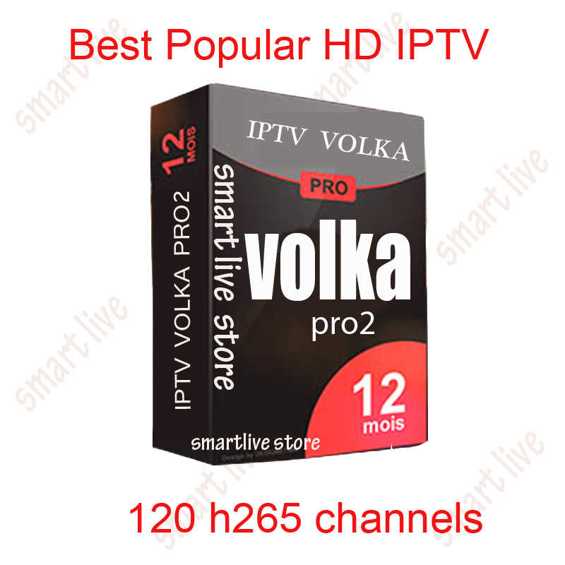 Volka Pro IPTV Subscription Bahasa Perancis Bahasa Swedia Eropa Spanyol Italia IPTV Satu Tahun Mag250 Android TV Box Penguntit IT & Cyber Security