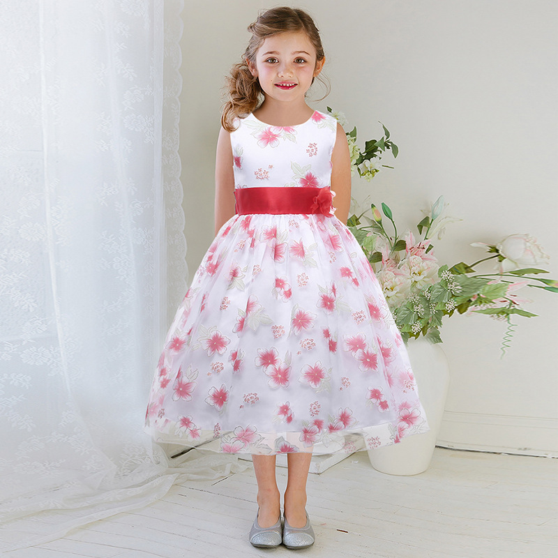 ФОТО Baby Girls Dresses Brand Princess Dress Girl Clothes Kids Dresses Children Costumes 5 Colors 3-14 Years Old