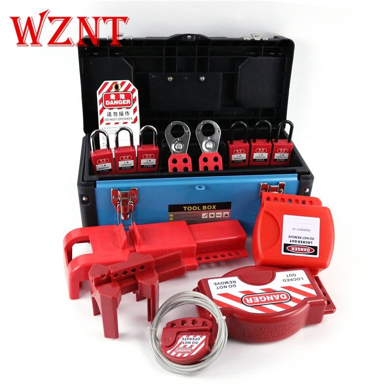 NT-LG12 Brady Master Standard Lock Safety Valve Lockout Station Loto Tool Box kits