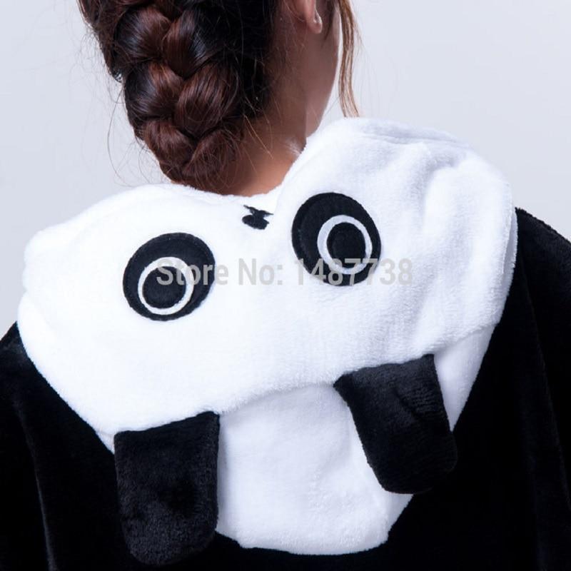 Kigurumi Panda Pajamas Animal Onesies Romper Sleepwear Jumpsuit - საკარნავალო კოსტიუმები - ფოტო 3
