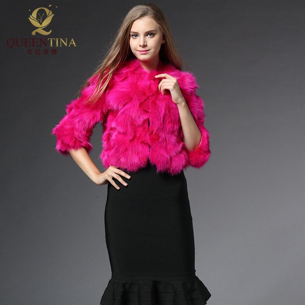 Popular Hot Pink Fur Jacket-Buy Cheap Hot Pink Fur Jacket lots ...