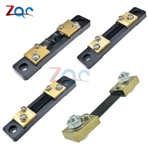 External Shunt FL-2 200A 100A 50A 30A 20A 10A /75mV Current Meter Shunt resistor For digital ammeter amp voltmeter wattmeter(China)