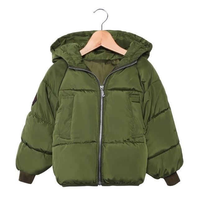 df14b83c7549 2018 New Children Jackets Boys Girls Winter down coat Baby Winter ...