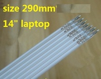 """10 Pieces/lot 290mm(29cm)*2.0mm CCFL light tube for 14"""" 14 inch notebook laptop backlight
