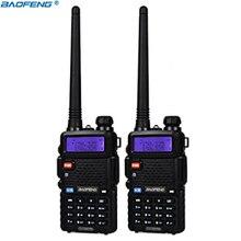 BaoFeng UV-5R walkie talkie professional CB radio transceiver baofeng UV5R 5W Dual Band Radio VHF&UHF handheld two way radio