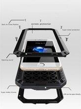 I7/7 Плюс Роскошный Doom Броня Жизнь Шок Dropproof Противоударный Металл Алюминий + силиконовый Защитный Case для IPhone 7 6 S 6 S плюс
