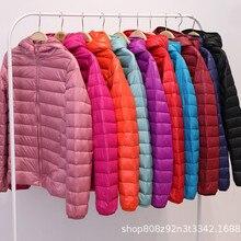 ZOGAA Hot Warm Winter Jacket New Zipper Winter Coat Women Sh