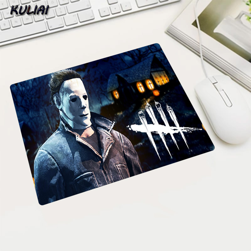 KULIAI High Quality Rubber Non-slip Small Size Mouse Pad Dead By Daylight Game Laptop Player Mousepad Desk Decoration Gifts Mats