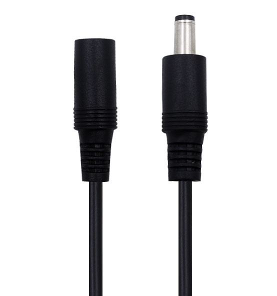 DC Power Supply Adapter Extension Cable For X Rocker Gaming Chair