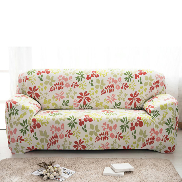 Elastic Sofa Cover Printed Tight Allinclusive Stretch Covers On The  SingleTwo Printed Fabric Sofas N98