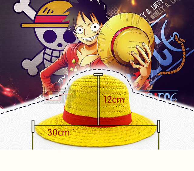 ee65942a547 ... One Piece Luffy Japanese Anime Cosplay Straw Hat Boater Beach Hat  Cartoon Cap Halloween Gift. Previous. Next
