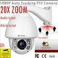 20X1080 p suporte para câmera 160 M IR ptz auto pista