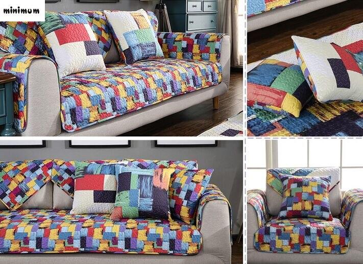 Modern Living Room Sofa Cover Combination Sofa Cushion Four