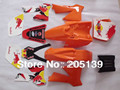 2002-2008 RACING KTM50 KTM 3M GRAPHICS DECALS STICKER & orange PLASTIC FOR MOTORCYCLE DIRT PIT BIKE SX50 KTM50